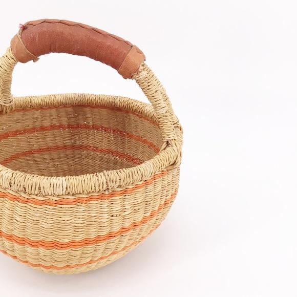Ghana Baskets| Bolga African Market Baskets Small